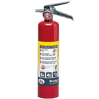 2.5 pound Residential Fire Extinguisher
