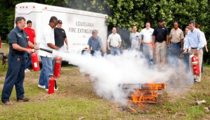 Fire Extinguisher Training in Louisiana